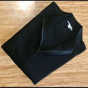 NWOT Cutter & Buck 1/2 Zip Sweater Men's XL Black